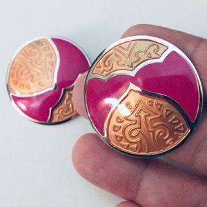 Fantastic Round Earrings by Designer Edgar Berebi